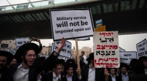 ultra orthodox protest